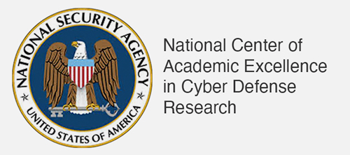 National Center of Academic Excellence in Cyber Defense Research