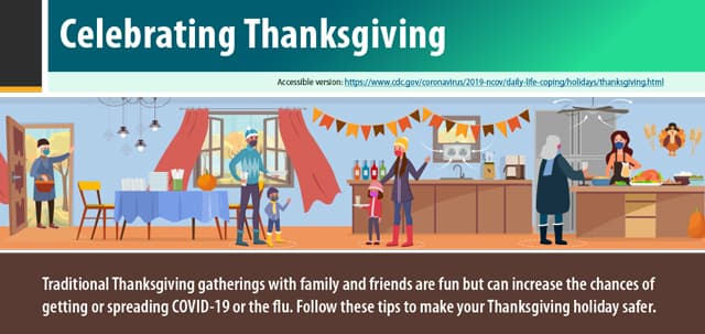 everyo can make thanksgiving safer graphic